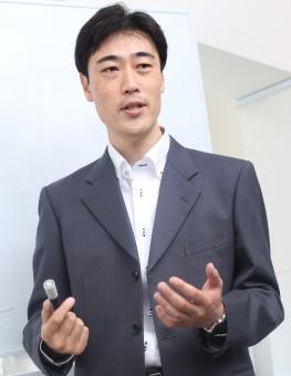 代表 矢場田 セミナー風景